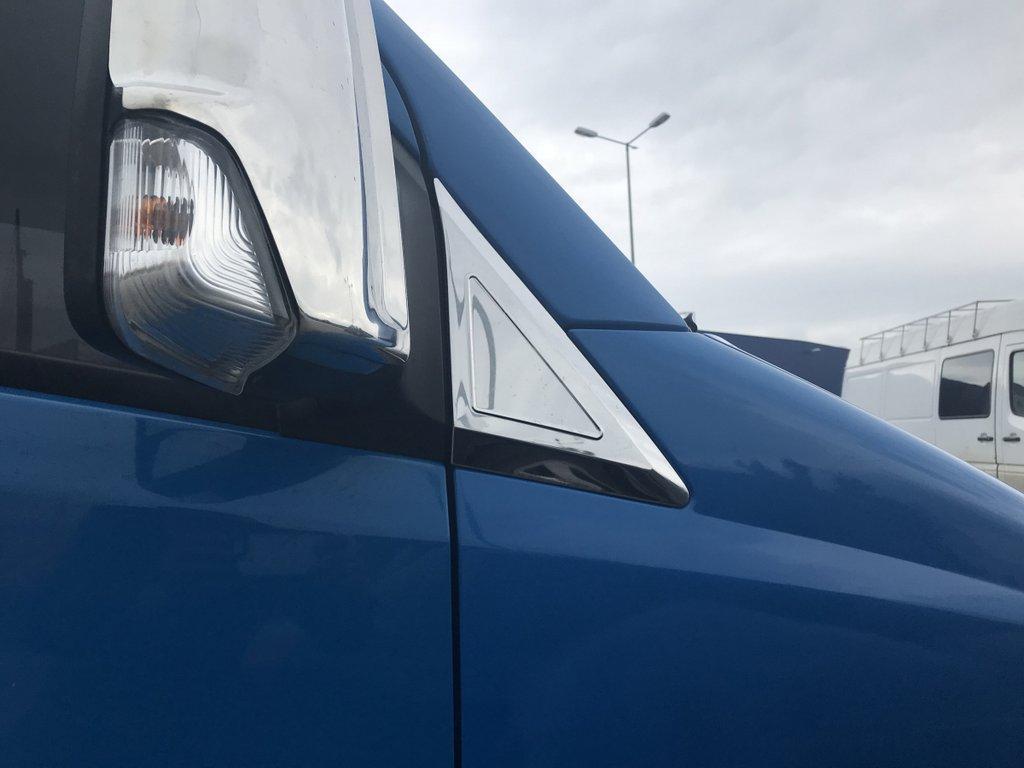 Накладки на дефлектор окон (нерж) Mercedes Sprinter 906 Мерседес Бенц Спринтер