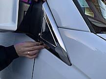Накладки на дефлектор окон (нерж) Mercedes Sprinter 906 Мерседес Бенц Спринтер, фото 3