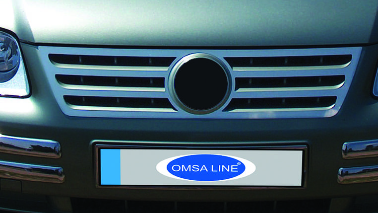 Тюнинг решетки радиатора Volkswagen Caddy 2004 OmsaLine Фольксваген Кадди, фото 2