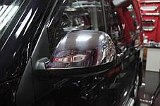 Volkswagen T5 Накладки на зеркала (хромированный пластик) Фольксваген Транспортер, фото 3