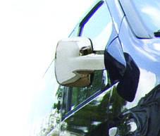 Mercedes Vito Накладки на зеркала (АВS, 2 шт) Мерседес Бенц Вито W638, фото 3