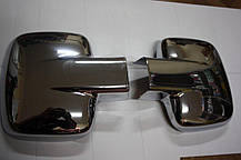 Mercedes Vito Накладки на зеркала (АВS, 2 шт) Мерседес Бенц Вито W638, фото 2