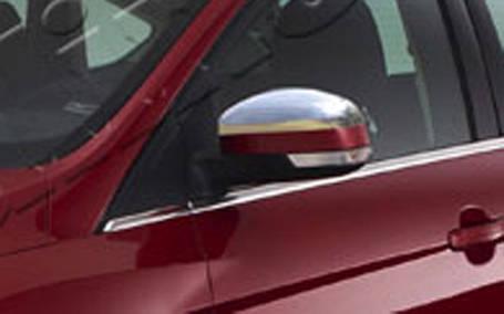 Накладки на зеркала (2 шт, нерж.) Ford Mondeo 2008-2013 гг. Форд Мондео, фото 2
