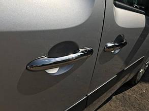 Mercedes Citan хром Накладки на ручки 4 штуки Кармос Мерседес Бенц Ситан, фото 2