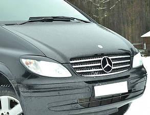 Mercedes Viano Накладка на решетку радиатора, Omsa Мерседес Бенц Виано, фото 2