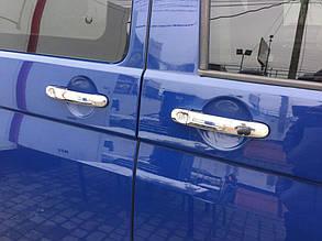 Volkswagen T5 Накладки на дверные ручки ОмсаЛайн 3 штуки Фольксваген Транспортер, фото 2