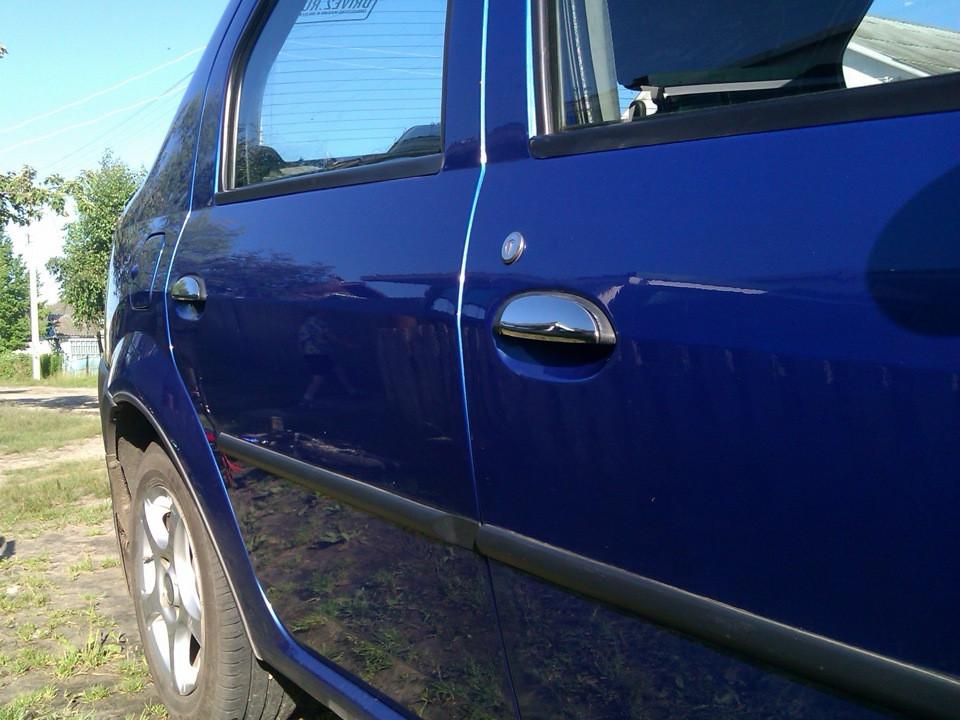 Dacia Logan II Накладки на ручки Carmos Дачиа Логан 2