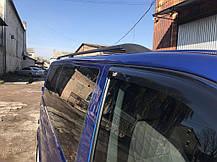 (CAN) Рейлинги черные на VW Т5 с пластиковым креплением (алюминий) на короткую базу Фольксваген Транспортер, фото 2