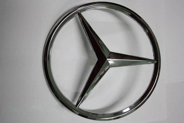 Задняя эмблема (лого Мерседес) Mercedes Vito W639 2004-2015 гг. Мерседес Бенц Вито W639, фото 2