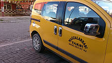 Fiat Fiorino Накладки на ручки с обводкой OmsaLine Фиат Кубо, фото 3