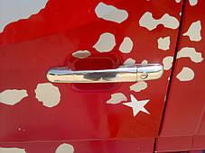 Хром на ручки VW LT (VOLT), Carmos Фольксваген ЛТ, фото 3