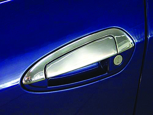 Fiat Grande Punto накладки на ручки и обводку Carmos Фиат Пунто