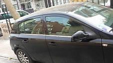 Opel Astra H Hatchback Наружняя окантовка стекол Carmos Опель Астра, фото 3