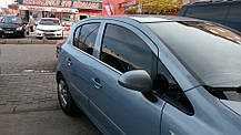 Opel Astra H Hatchback Наружняя окантовка стекол Carmos Опель Астра, фото 2