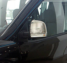 Opel Combo 2012↗ Накладки на зеркала из турецкой стали Кармос Опель Комбо, фото 2