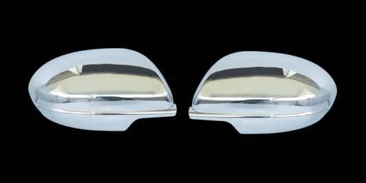 Mazda 6 2008-2012 Накладки на зеркала (нерж.), фото 2