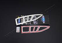 Пежо Партнер 2008-2012 Накладки на стопы Carmos (нержавейка) Пежо Партнер Типи, фото 2
