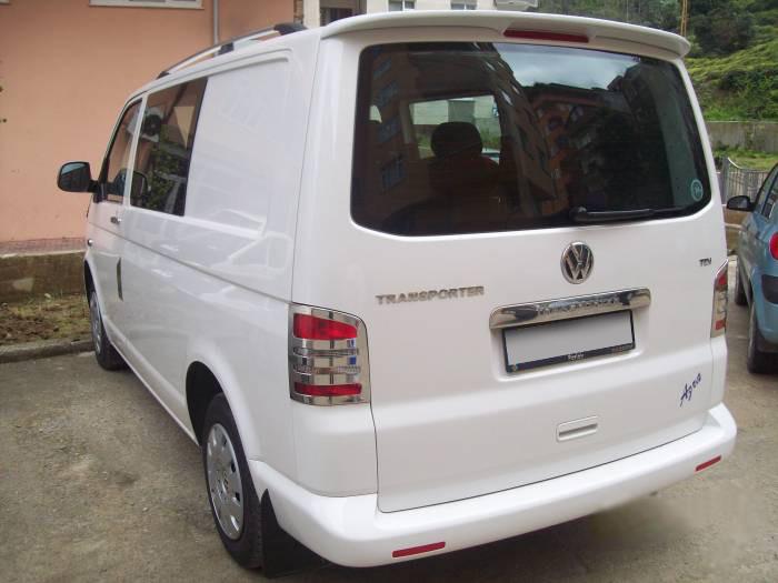 Спойлер Инче (под покраску) Volkswagen T5 Multivan 2003-2010 гг. Фольксваген Мультивен