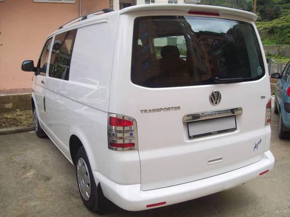 Спойлер Инче (под покраску) Volkswagen T5 Multivan 2003-2010 гг. Фольксваген Мультивен, фото 2