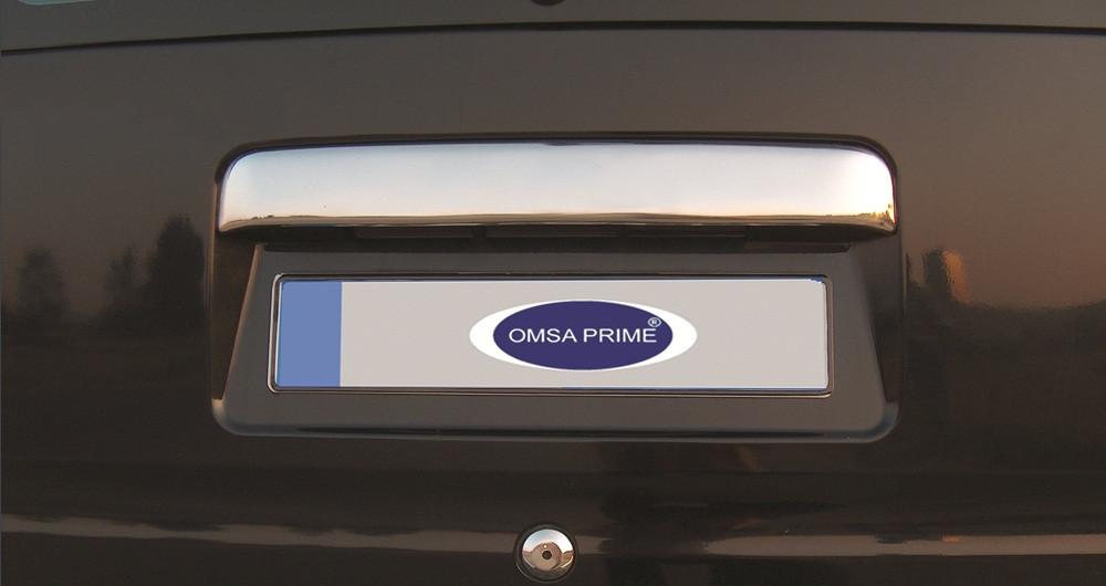 Ford Connect Хром накладка над номером (на родную) Carmos Форд Транзит Коннект