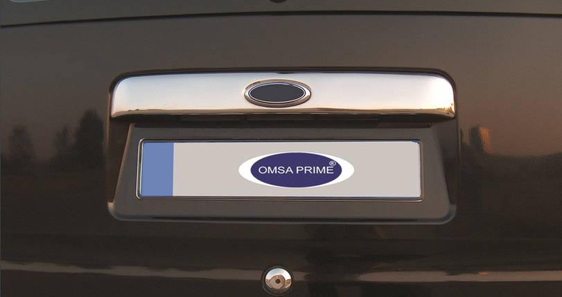Ford Connect Хром накладка над номером (под значек) Carmos Форд Транзит Коннект, фото 2