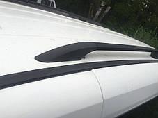 Opel Combo 2012↗ Рейлинги Чорные (пласт. крепл) на короткую базу Опель Комбо, фото 3
