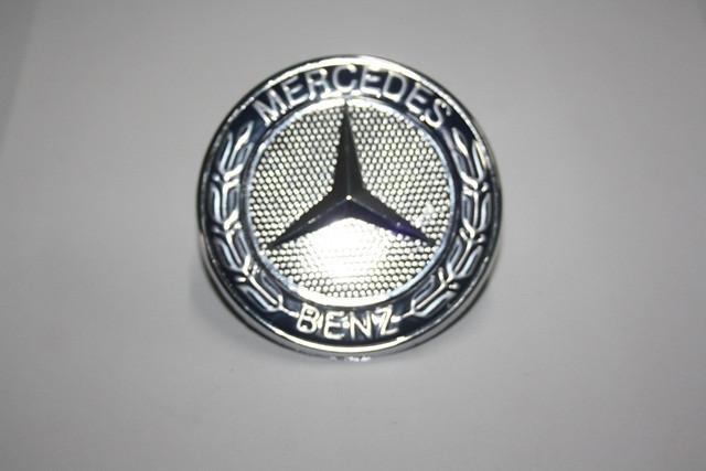 Mercedes ML W163 значек на капот синий на штырьках Мерседес Бенц МЛ