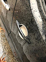 Citroen Berlingo 2008↗ Накладки под ручки (4 шт, нерж.) Ситроен Берлинго, фото 2