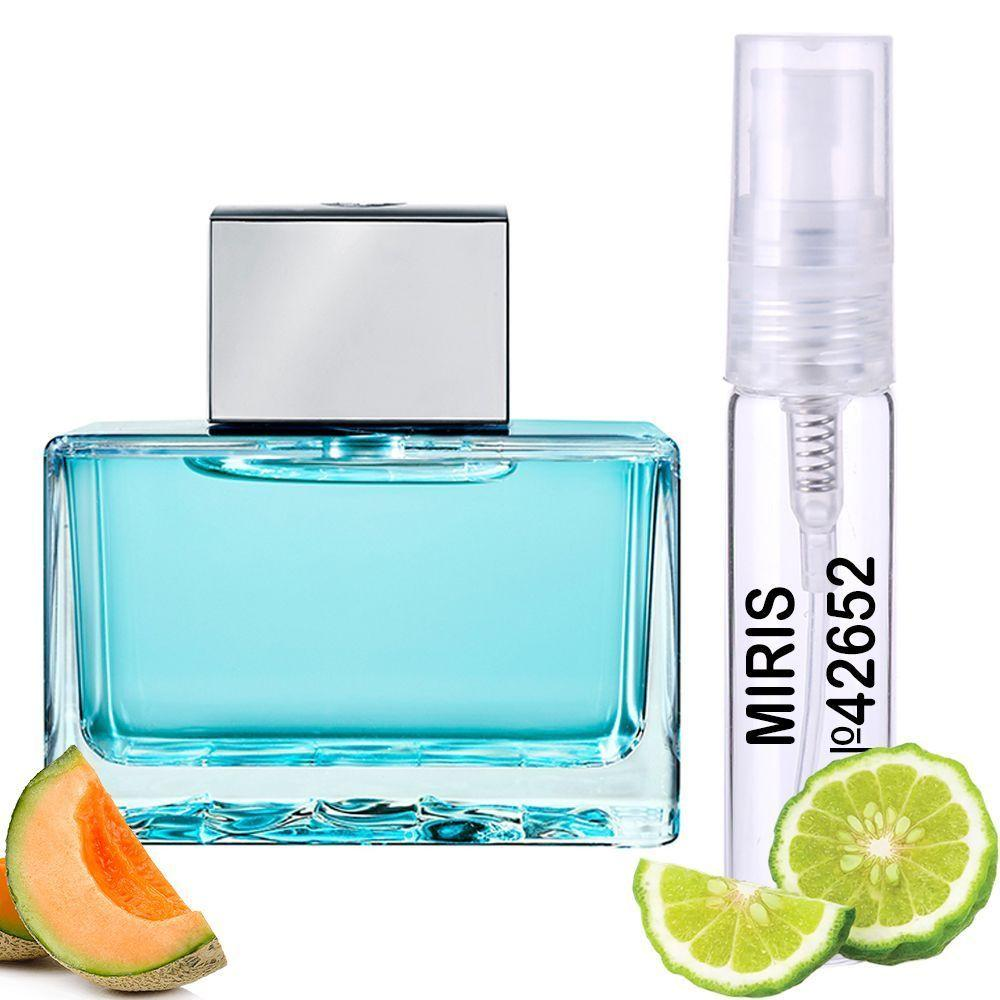 Пробник Духов MIRIS №42652 (аромат похож на Antonio Banderas Blue Seduction For Women) Женский 3 ml