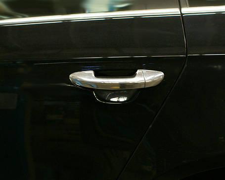 VW Passat В7 Накладки на дверные ручки OmsaLine Фольксваген Пассат Б7, фото 2