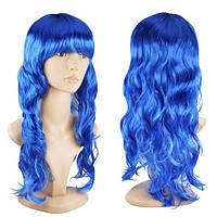 Цветные парики длинные