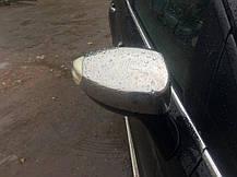 Накладки на зеркала (2 шт, нерж.) Ford Galaxy 2008↗ гг. Форд Галакси, фото 3