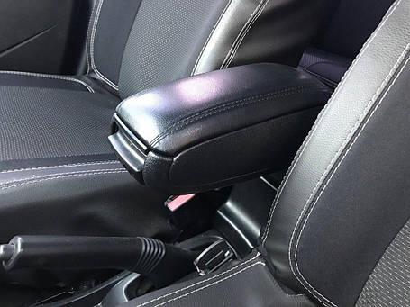 Подлокотник (в подстаканник) Dacia Duster 2008-2018 гг. Дачиа Дастер, фото 2