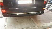 Кант на крышку багажника (нерж) Mercedes Viano 2004-2015 гг. Мерседес Бенц Виано, фото 3