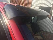 Козырек на лобовое стекло (черный глянец, 5мм) Mercedes Vito W639 2004-2015 гг. Мерседес Бенц Вито W639, фото 3