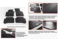 Резиновые коврики (4 шт, Stingray Premium) Volkswagen Passat B6 2006-2012 гг. Фольксваген Пассат Б6