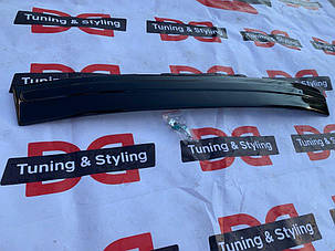 Skoda Octavia A5 2004-2010 Зимняя глянцевая накладка в бампер Шкода Октавия А5, фото 2