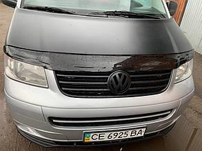 Дефлектор капота (ANV) Volkswagen T5 Multivan 2003-2010 гг. Фольксваген Мультивен, фото 2