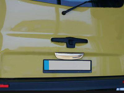 Opel Vivaro Хром планка над номером нижняя Carmos без надписи Опель Виваро, фото 2