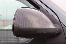 Накладки на зеркала (2 шт, натуральный карбон) Audi Q7 2005-2015 гг. Ауди Q7, фото 2