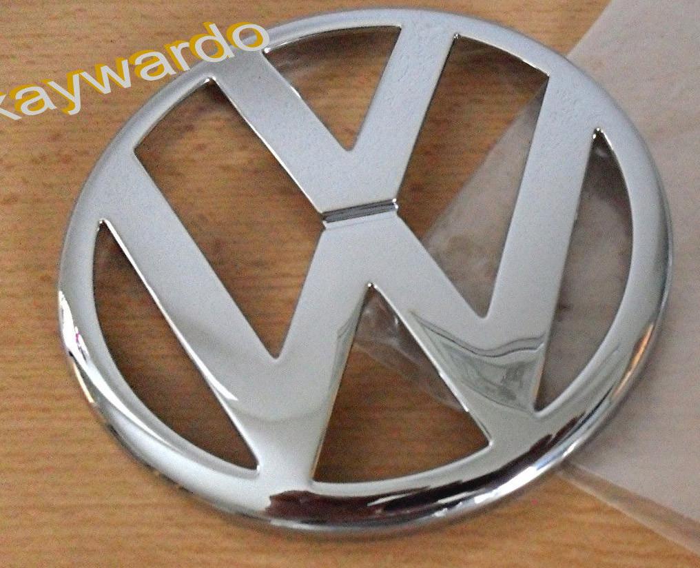 Передний значок (верхушка, косой капот) Volkswagen T4 Transporter Фольксваген Т4 (Транспортер)