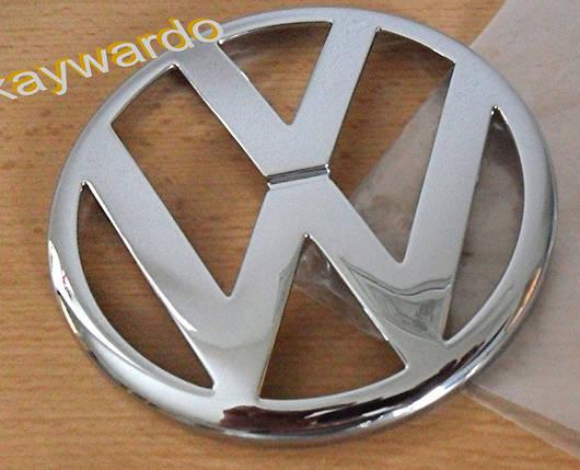 Передний значок (верхушка, косой капот) Volkswagen T4 Transporter Фольксваген Т4 (Транспортер), фото 2