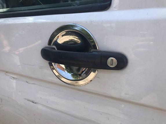 Volkswagen Touran 2010↗ Накладки под ручки 4 штучные Фольксваген Туран, фото 2