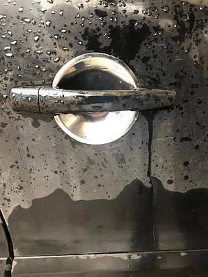 Citroen Berlingo 2008↗ Накладки под ручки (5 шт, нерж.) Ситроен Берлинго, фото 2