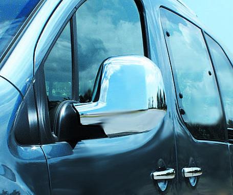 Citroen Berlingo 2008-2012 Накладки на зеркала Carmos Ситроен Берлинго, фото 2