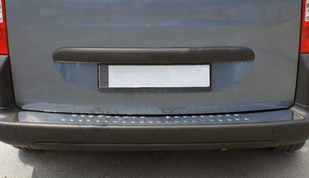 Fiat Fiorino Накладки на задний бампер OmsaLine Матовая Фиат Кубо
