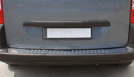 Fiat Fiorino Накладки на задний бампер OmsaLine Матовая Фиат Кубо, фото 2