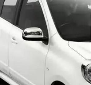 Nissan Note 2013 Накладки на зеркала Carmos Ниссан Ноут
