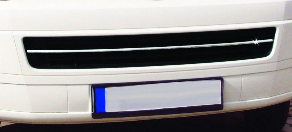 T5 Caravelle Накладка на решетку бампера OmsaLine Фольксваген Каравелла