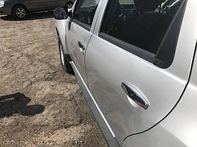 Dacia Duster накладки на ручки нерж. ОмсаЛайн Дачиа Дастер, фото 2
